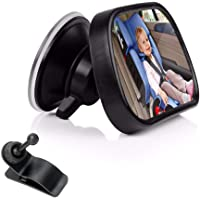 Baby Car Mirror for Back Seat,ShowTop Rear View Facing Back Seat Mirror Child Safety Rearview 360 Degree Adjustable…