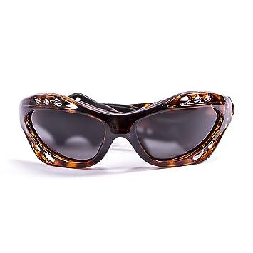 Ocean Sunglasses Cumbuco - Gafas de Sol polarizadas - Montura : Marrón - Lentes : Ahumadas
