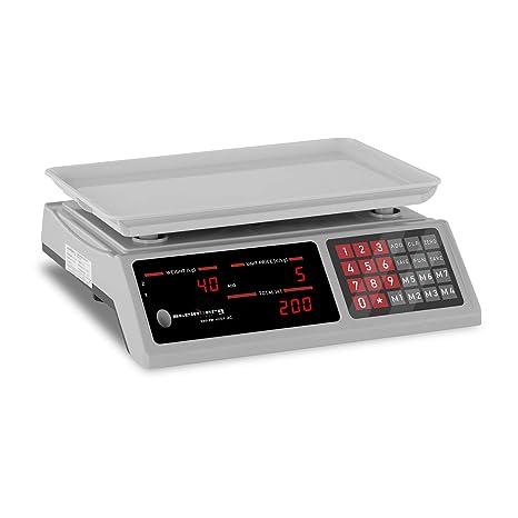 Steinberg Balanza De Control Báscula SBS-PW-402EP (Pesaje hasta 40 kg,