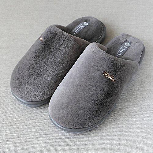 d'hiver en coton Chaussons en chaud Chaussons coton d'hiver YHISn