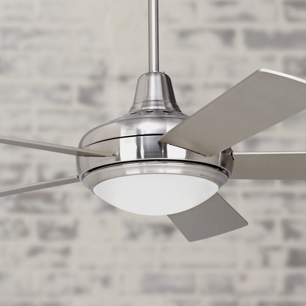 52 casa compass brushed nickel ceiling fan amazoncom