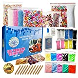 Ultimate Slime Kit for Girls and Boys   Slime Kit with Slime Supplies   Complete DIY Slime Making Kit   Includes Slime Ingredients, 10 Colors, 8 Different Add-Ins   Colorful Slime Kits for Family Fun