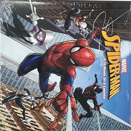 Marvel Spider-Man 16 month 2018 Calendar