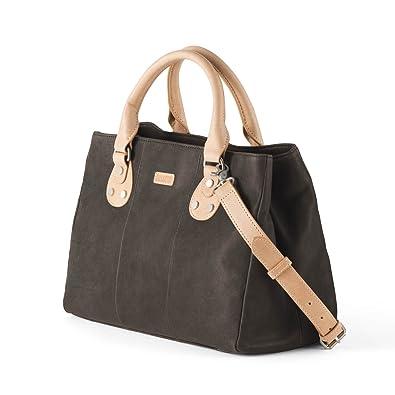 d478e54c33 Amazon.com  Ellington Handbags Eva Satchel – With Crossbody Strap Dark  Brown  Shoes