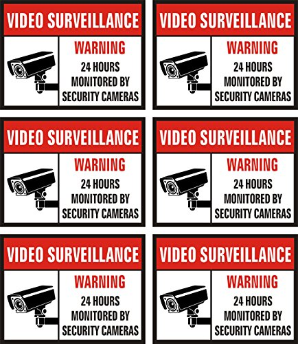 Jancosta Surveillance Sticker Security Business
