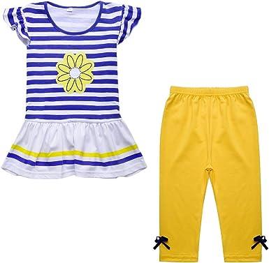 Nwada Ropa Bebe Niña Conjunto Camiseta y Pantalones Disfraz ...