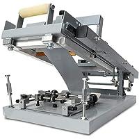 WUPYI2018 Máquina de serigrafía Manual, serigrafía Redonda, tamaño