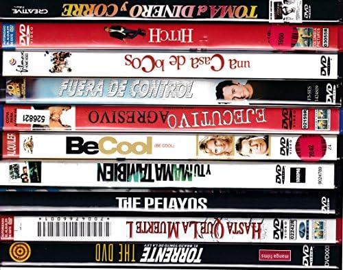 PACK 10 DVD Películas de segunda mano (COMEDIA): Amazon.es: Cine y ...