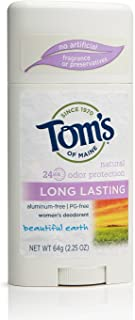 product image for Tom's of Maine US03578A Long Lasting Natural Deodorant, Tea Tree, 2.25 Ounce, 18 Count