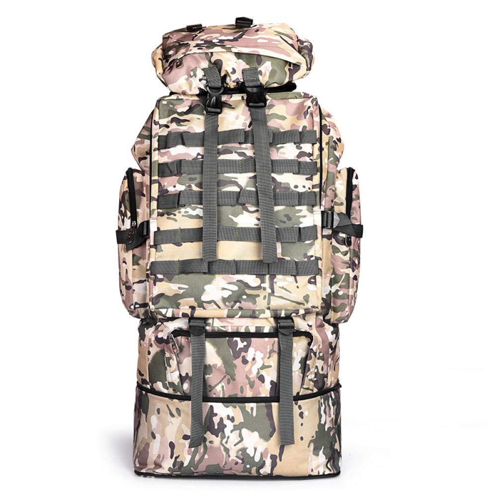 L  SAMNZN Sac à Dos de Voyage Sac à Dos extérieur de Grande capacité - Sac de randonnée, Sac de Camouflage pour Les sacages des Hommes et des Femmes