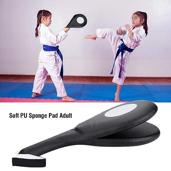 Entrenamiento de Patadas Bajas Bloc de Puntos Dilwe Suave PU Esponja Kick Punching Paddle para Boxeo Taekwondo Karate