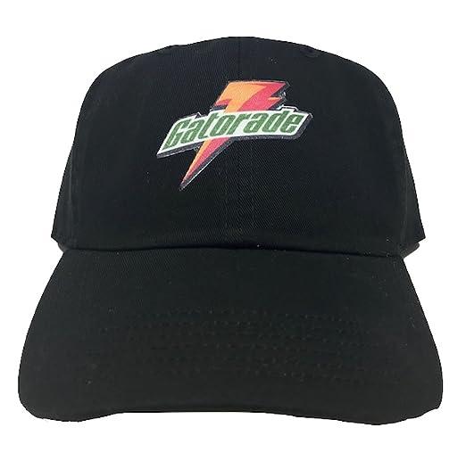 Gatorade Adjustable Strapback Dad Hat (Black) at Amazon Men s Clothing  store  4a9703b4414b