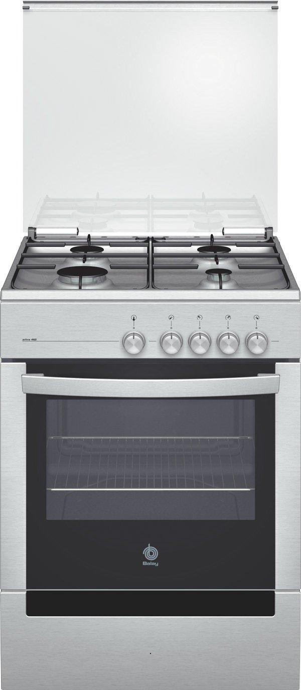 Balay 3CGX-462 B - Cocina (Cocina independiente, Blanco, Giratorio ...
