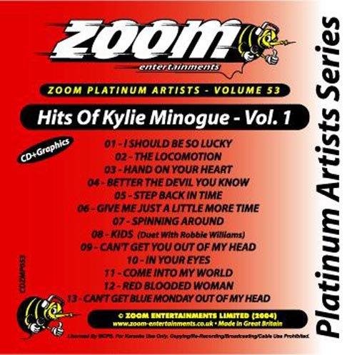 - Zoom Platinum CDG ZPA053 Kylie Minogue