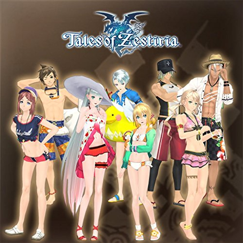 Zestiria Costumes (Tales Of Zestiria - Seaside Resort Costume Set - PS3 [Digital Code])