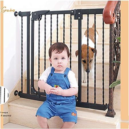 Barreras de puerta Puerta De Seguridad For Niños Barandilla De Escalera Valla For Mascotas Bar Escaleras Pasillo Valla Aislante De Cocina Barandilla Perro Golden Retriever Valla For Mascotas: Amazon.es: Hogar