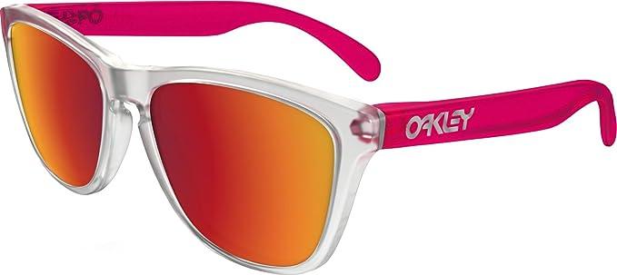 Oakley Frogskins 9013B3 Gafas de sol Hombres, Mate Claro ...