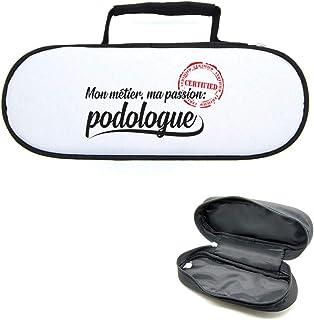 Mygoodprice Sacoche Housse pour Boules de pétanque métier Passion podologue