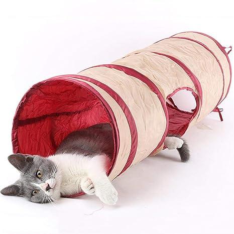 Juguete del Túnel del Gato Tubo Desmontable del Túnel del Juego De Mascotas para El Gato