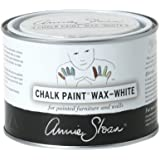 CHALK PAINT (R) Wax - White (500mL) - Annie Sloan - Colored Wax - Finish - Limed Effect