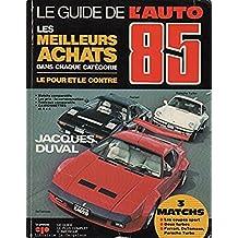 Guide de l'auto 1985 -le