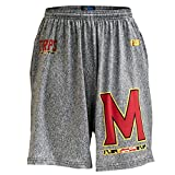 FIT2WIN Fit 2 Win Maryland Terps Heathered Gray Sublimated Short, XXL