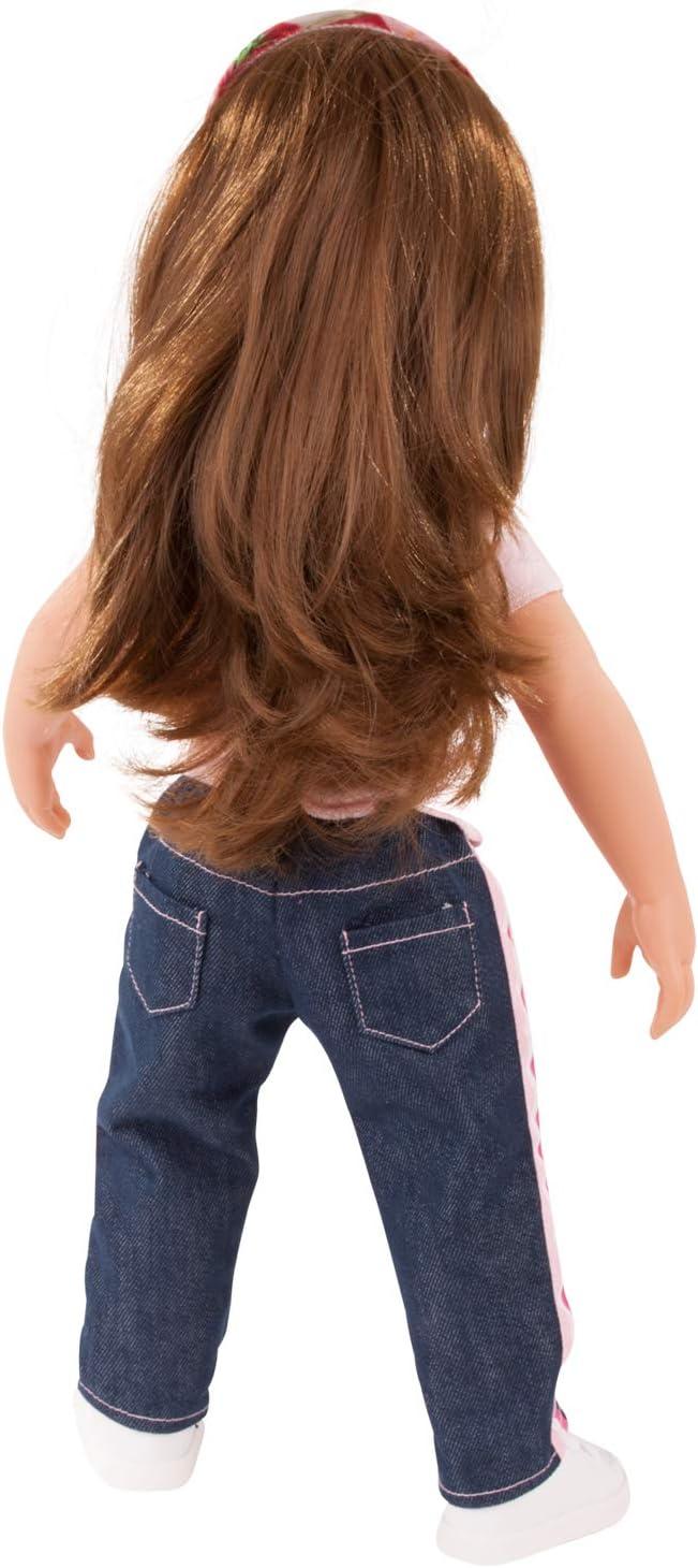G/ötz 3403154 Kombination Jeans in Style Puppenbekleidung Gr 5-teiliges Bekleidungs- und Zubeh/örset f/ür Stehpuppen 45-50 cm XL