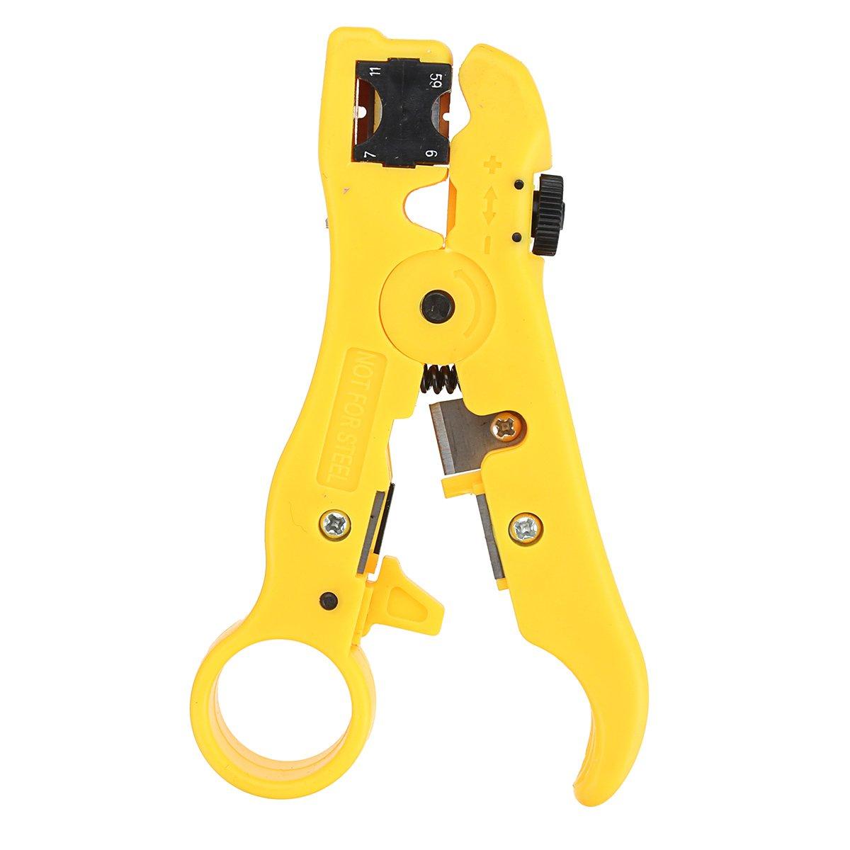 Generic Abisolierzange für Kabel mit mit mit F-Kopf und 20 schwarzen Steckern B07NLG9F7M | Modern  3859bc