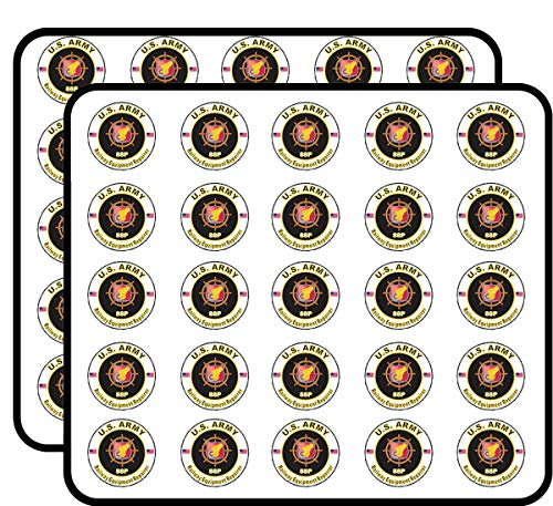 (U.S. Army MOS 88P Railway Equipment Repairer 50 Pack Sticker for Scrapbooking, Calendars, Arts, Album, Bullet Journals and More 1