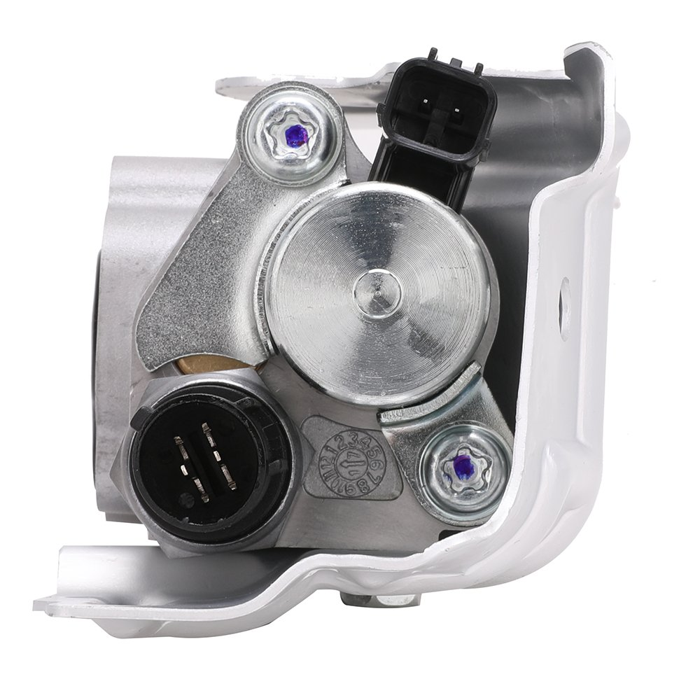 15810-RAA-A03 Spool Valve Assembly VTEC Solenoid w//Timing Oil Pressure Switch and Gasket for Honda CRV CR-V Civic Si Element Accord Acura RSX Replace # 15810-PNE-G01 15810-PPA-A01 15810-RAA-A01
