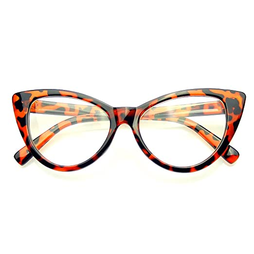 Gafas marrones ojos de gato