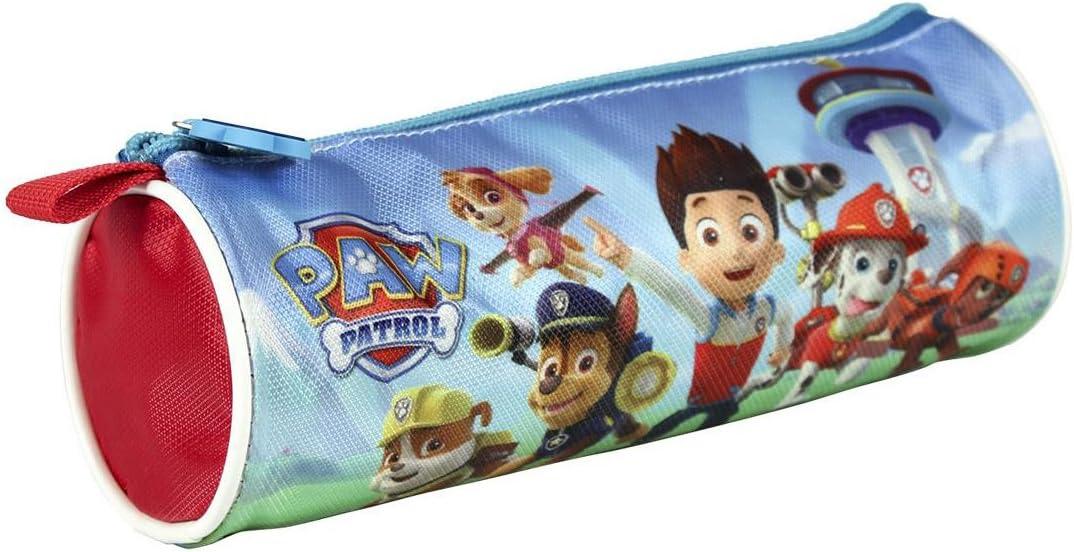 Paw Patrol - Estuche redondo, 21 cm: Amazon.es: Juguetes y juegos