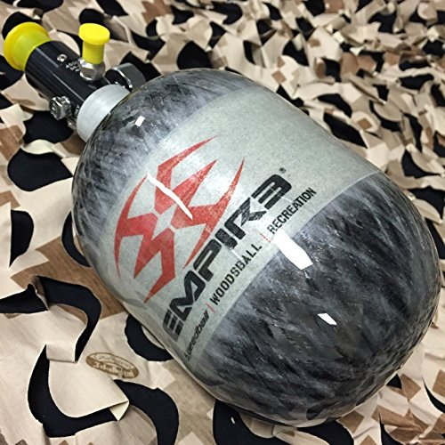 Empire Carbon Fiber 48/4500 Compressed Air HPA N2 Paintball Tank - Grey by Loader