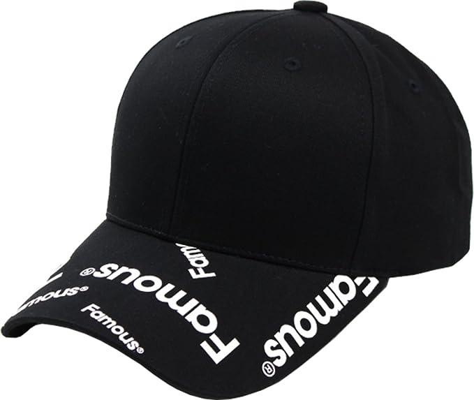 sujii FAMOUS Famoso Gorra de Beisbol Baseball Cap Sombrero de Golf gorra de  Camionero Trucker Hat Black  Amazon.es  Ropa y accesorios fd9008f98b9