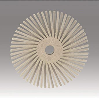 Scotch-Brite SR Radial Bristle Disc 3 in x 3//8 in