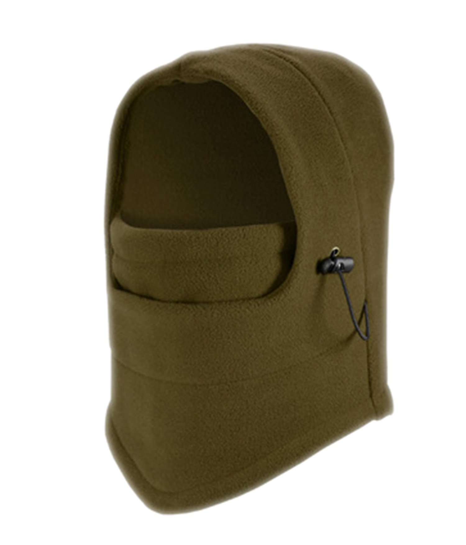 DD.UP Winter Warm Cover Anti-dust Windproof Cap Adjustable Ski Mask Hat (Army Green)