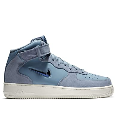 the best attitude ed79b 39312 Nike Air Force 1 Mid  07 Lv8, Chaussures de Fitness Homme, Multicolore (