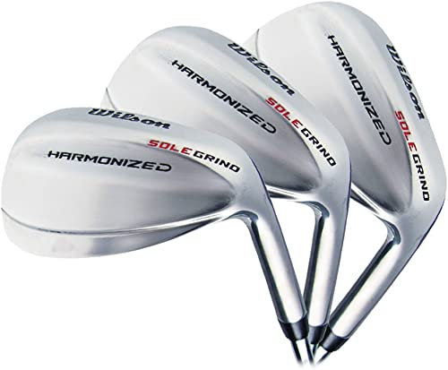 Wilson Golf Harmonized SG Chrome 3-Wedge Set