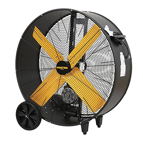 Master Professional High Capacity Belt-Drive Barrel Fan, 36-inch, 2 Speed, OSHA Compliant - -