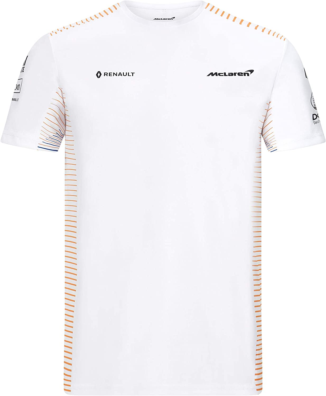 2020 Mclaren F1 Team Herren T Shirt Poloshirt Carlos Sainz Lando Norris Sport Freizeit