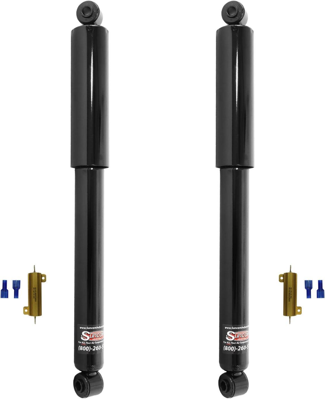 Rear Gas Shocks Passive Suspension Conversion Kit Suncore 150G-12-R-RES Passive Suspension Conversion Kit Incl