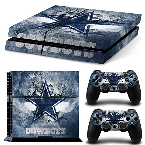 - FriendlyTomato PS4 Console and DualShock 4 Controller Skin Set - Football NFL - PlayStation 4 Vinyl