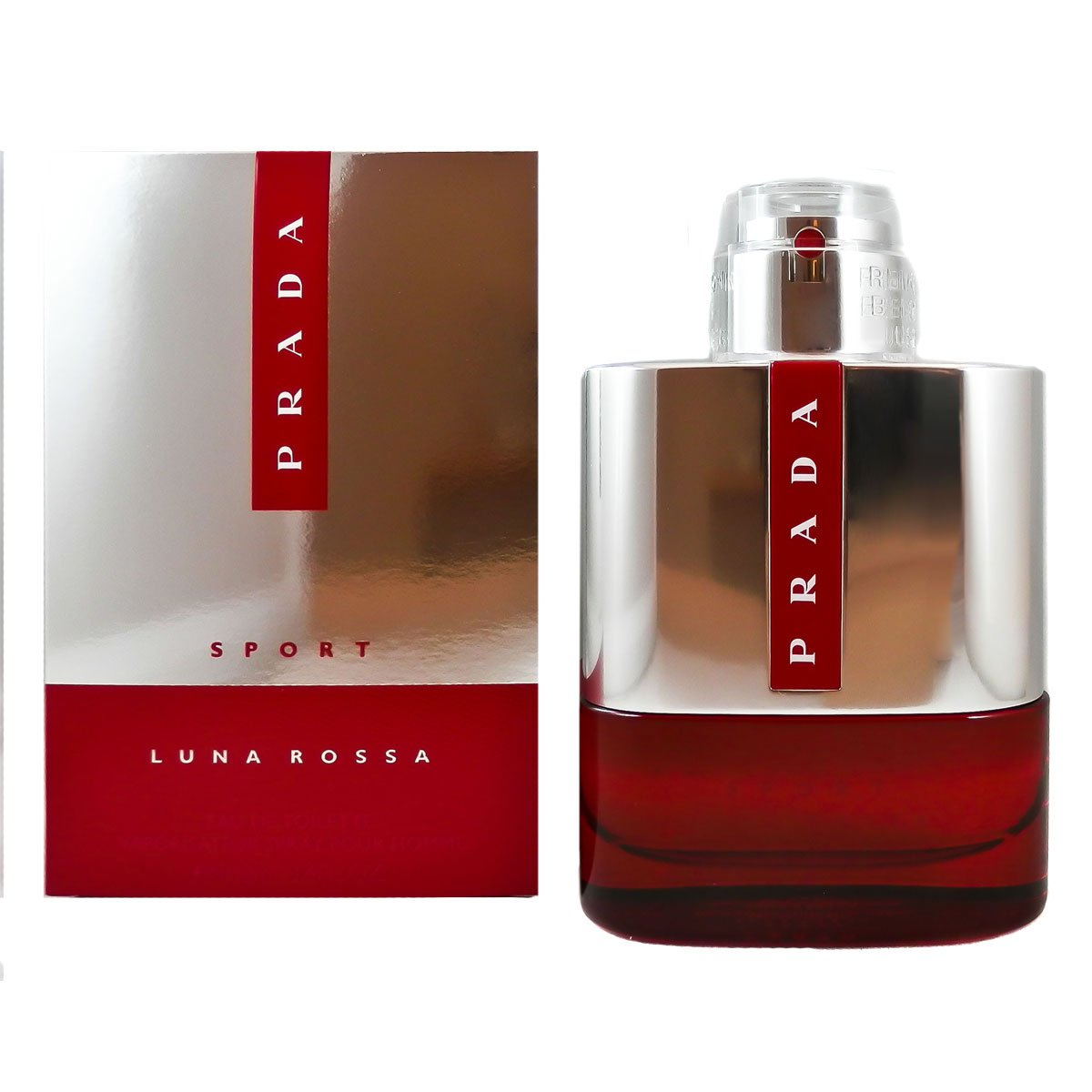 Amazon.com   Prada Luna Rossa Eau de Toilette Spray for Men, 3.4 ... 9cce8c6c9f