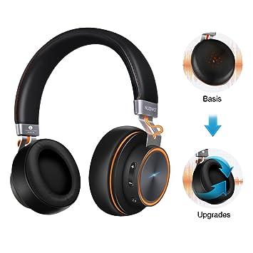 ELEGIANT Auriculares Bluetooth Diadema Headset inalámbricos Wireless 4.1 con 3,5 mm Audio Micrófono AUX