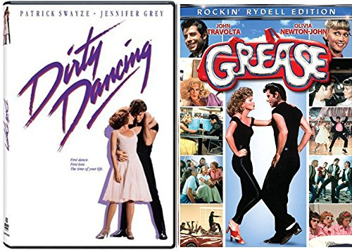 Dirty Dancing DVD Set & Grease Movie Musical Set