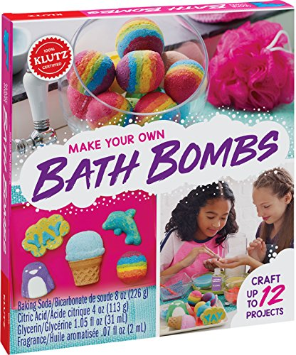 KLUTZ Make Your Own Bath Bombs Arts and Craft Kit