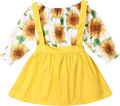 Conjunto de Vestido de Uniforme Escolar para niñas de 0 a 3 T con ...
