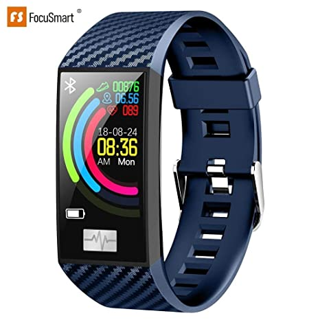 Amazon.com: pulseras inteligentes DT58 FocuSmart 2019 ...