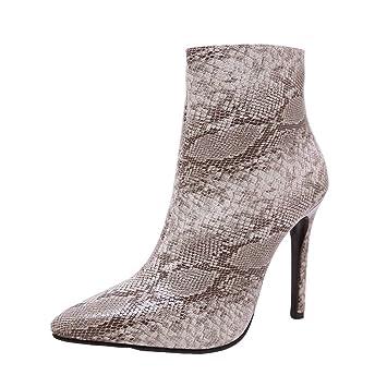 Mujer y Niña otoño fashion Botines,Sonnena ❤ Botas de mujer de piel de