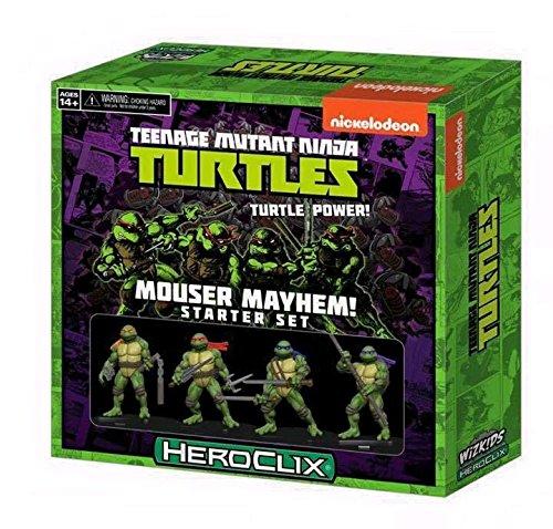 WizKids Teenage Mutant Ninja Turtles HeroClix: Mouser Mayhem Starter Set